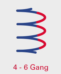 A.BON CLASSIC 4-6 Gang