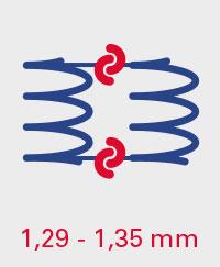 A.BON CLASSIC 1,29-1,35mm Spiralverbindungen