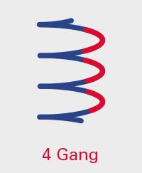 A.BON MINI 4 Gang