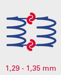 A.BON SPECIAL 1,29-1,35mm Spiralverbindungen